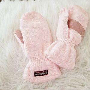 Thinsulate mitton gloves